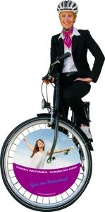 fahrradwerbung frühstück